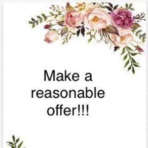 Make me a reasonable offer!!!!